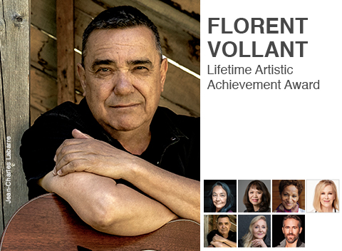 Florent Vollant, 2020 GGPAA laureate