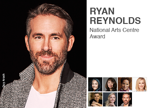Ryan Reynolds, 2020 NAC Award laureate