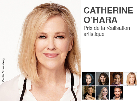 Catherine O'Hara, lauréate des PGGAS 2020